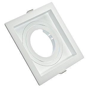 Spot LED Embutir Recuado GU10 Quadrado