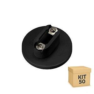 Kit 50 Soquete Adaptador G13 Para Lâmpada LED Tubular T8