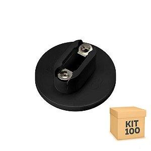 Kit 100 Soquete Adaptador G13 Para Lâmpada LED Tubular T8