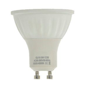 Lâmpada Dicroica LED COB GU10 5w Branco Quente | Inmetro