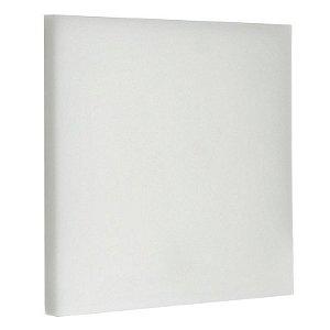 Luminária Plafon LED 24W Embutir Quadrada Branco Quente Borda Infinita