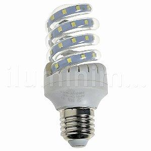 Lâmpada LED Espiral 7W Branca | Inmetro