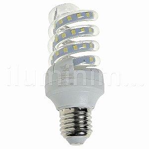 Lâmpada LED Espiral 9W Branca | Inmetro