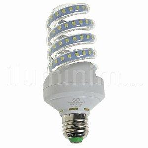 Lâmpada LED Espiral 16W Branca