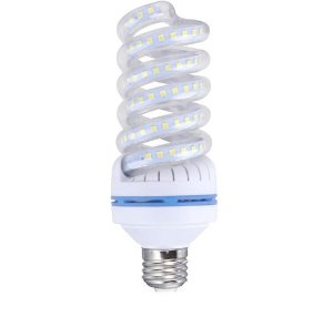 Lâmpada LED Espiral 20W Branca