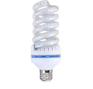 Lâmpada LED Espiral 20W Branca | Inmetro