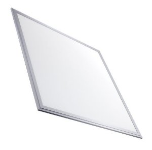Luminária Plafon 60x60 30W LED Embutir Branco Quente Borda Aluminio