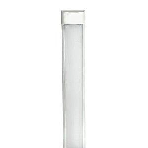 Tubular LED Sobrepor Completa 20W 60cm Branco Frio | Inmetro