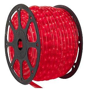 Mangueira LED Vermelho 100 metros Ultra Intensidade - À prova d'água