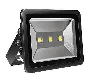 Refletor Holofote LED 150w Branco Frio Preto