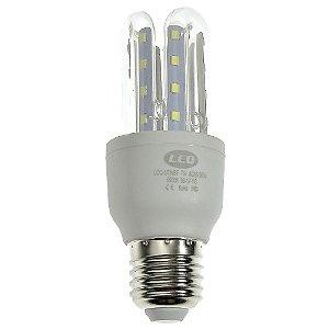 Lâmpada LED Milho 3U E27 7W Branco Quente | Inmetro