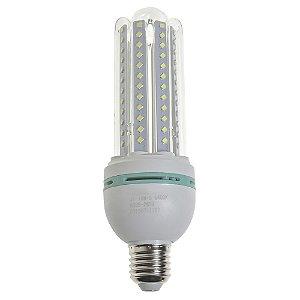 Lâmpada LED Milho 4U E27 18W Branco Quente | Inmetro