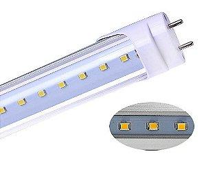 Lâmpada LED Tubular T8 9W 60cm Cristal - Branco Frio