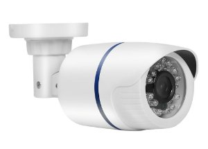Câmera Segurança de LED Bullet Infravermelho AHD 36 LEDs 1200TVL