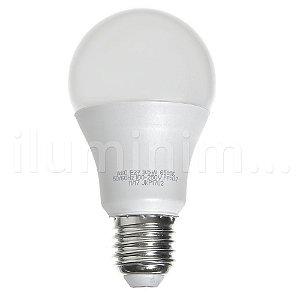 Lâmpada Bulbo LED A60 9,5W Bivolt Branca - Amarela
