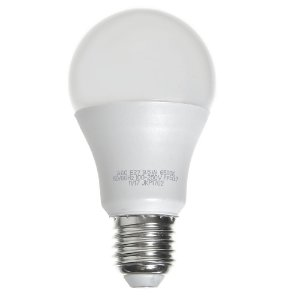 Lâmpada Bulbo LED A60 9,5W Bivolt Branca - Amarela | Inmetro
