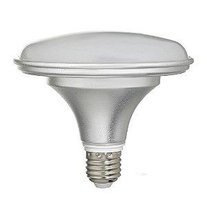 Lâmpada LED Prato 18W Bivolt Prateada Branco Frio | Inmetro