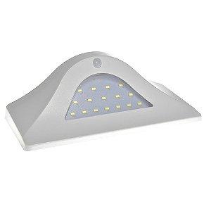 Luminaria Solar LED Sensor de Movimento 16 Leds