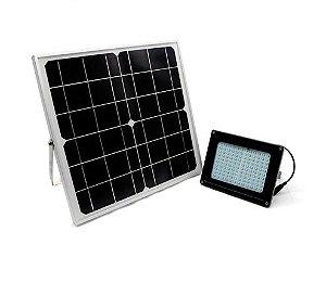 Refletor LED Solar 50w 96 Leds Auto Recarregável