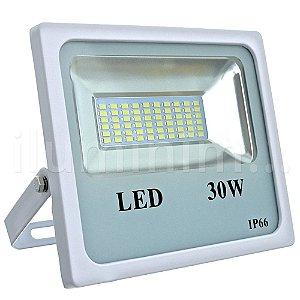 Refletor Holofote MicroLED 30W Branco Frio