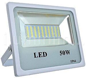 Refletor Holofote MicroLED 50W Branco Frio