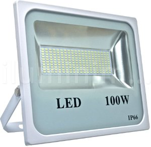 Refletor Holofote MicroLED 100W Branco Frio
