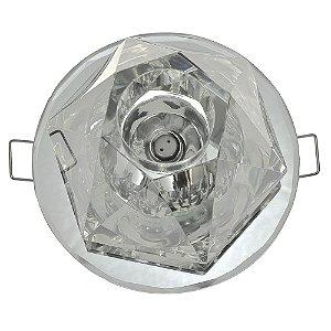 Spot Cristal Led Cônico Embutir G4 2w
