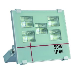 Refletor Holofote MicroLED 50W Multifocal Branco Frio