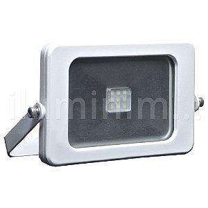 Refletor MicroLED Ultra Thin 10W Branco Frio Pure White