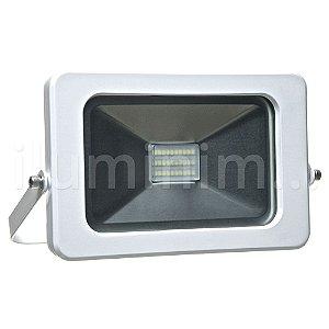 Refletor MicroLED Ultra Thin 30W Branco Frio Pure White