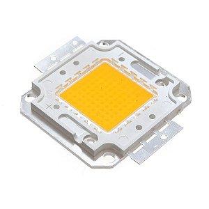 Chip de Refletor LED 50w Branco Quente - Reposição