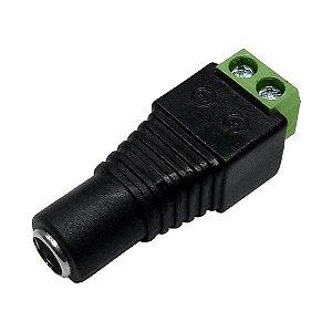 Plug Conector P4 Fêmea Para Fita LED Cftv Câmera Borne Kre - Extra ou Reposição