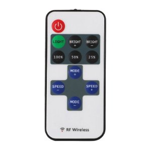 Controle Wireless Fita LED RGB 3528 e 5050