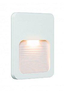 Balizador LED 2W De Sobrepor Branco Quente Branco