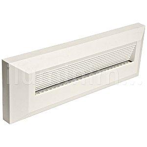 Balizador LED 2W De Sobrepor Retangular Branco Quente Branco