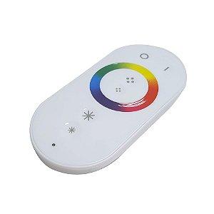 Controlador + Controle Fita LED 3528 e 5050 RGB Touch 22 Modos