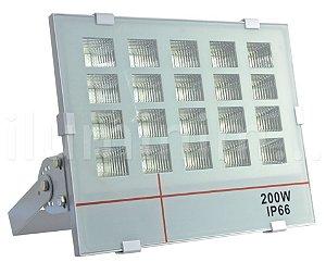 Refletor Holofote MicroLED 200W Multifocal Branco Frio