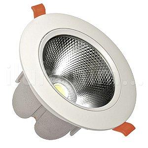 Spot LED COB 20W Embutir Direcionável Branco Frio