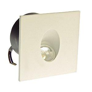 Luminária Arandela LED 3W Externa Branco Quente Branca