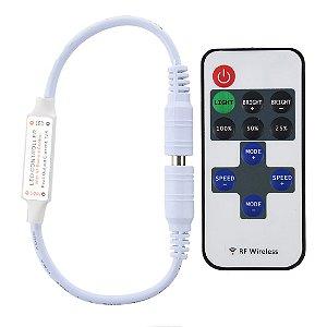 Controle Wireless + Controlador Fita LED RGB 3528 e 5050