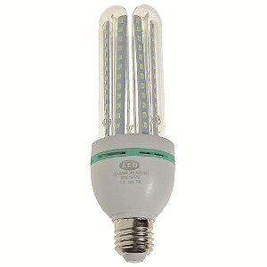 Lâmpada LED Milho 4U E27 24W Branco Quente | Inmetro