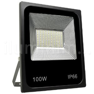 Refletor Holofote MicroLED 100W Verde
