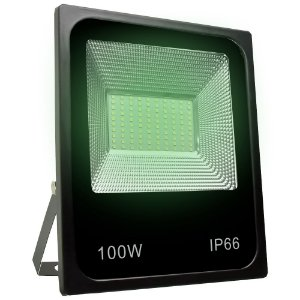 Refletor Holofote MicroLED SMD 100W Verde