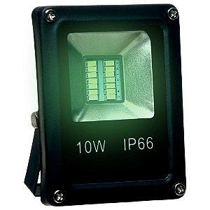Refletor Holofote MicroLED SMD 10W Verde