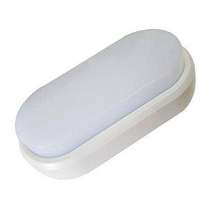 Luminaria Arandela LED 9W Sobrepor Branco Frio Tartaruga
