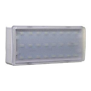 Luminária de Emergência 24 LEDs 200 Lúmens | Premium