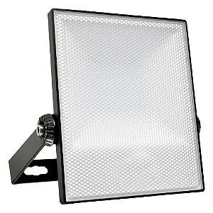 Refletor Holofote LED Prismático PRO 50W Branco Frio
