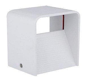 Luminária Arandela LED 5W Branco Quente Cubo