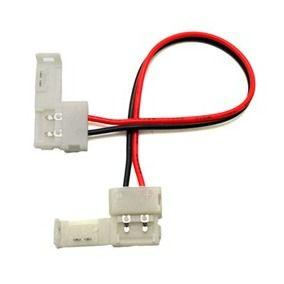 Conector para Fita LED 5050 RGB 10mm - 2 Vias 2 Terminais