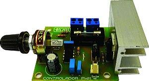 Controlador PWM de Velocidade 12V-10A para Fita Led